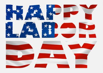Happy Labor Day wordart
